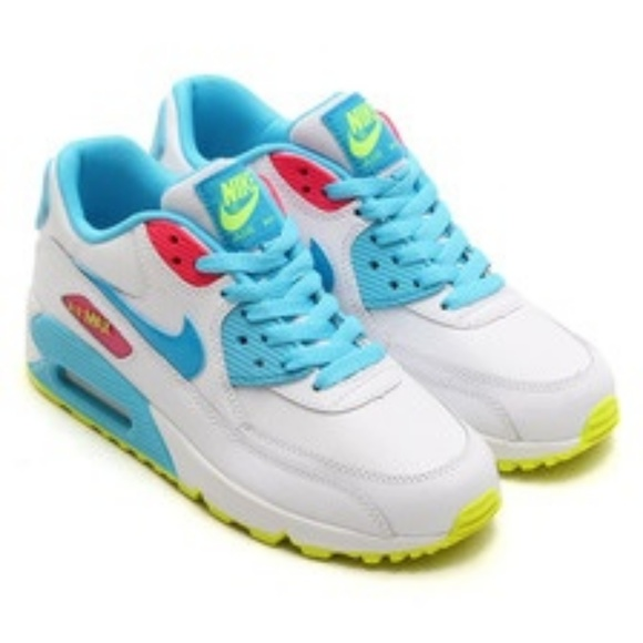 Nike Shoes | All White Air Max 90 | Color: White | Size: 7.5
